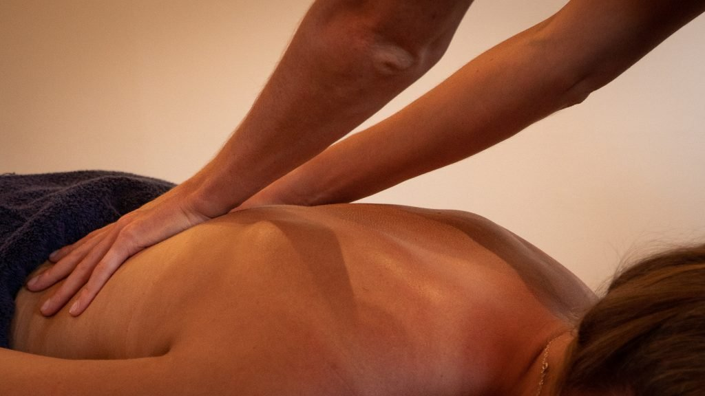 Lower Back relaxation massage in Morzine.