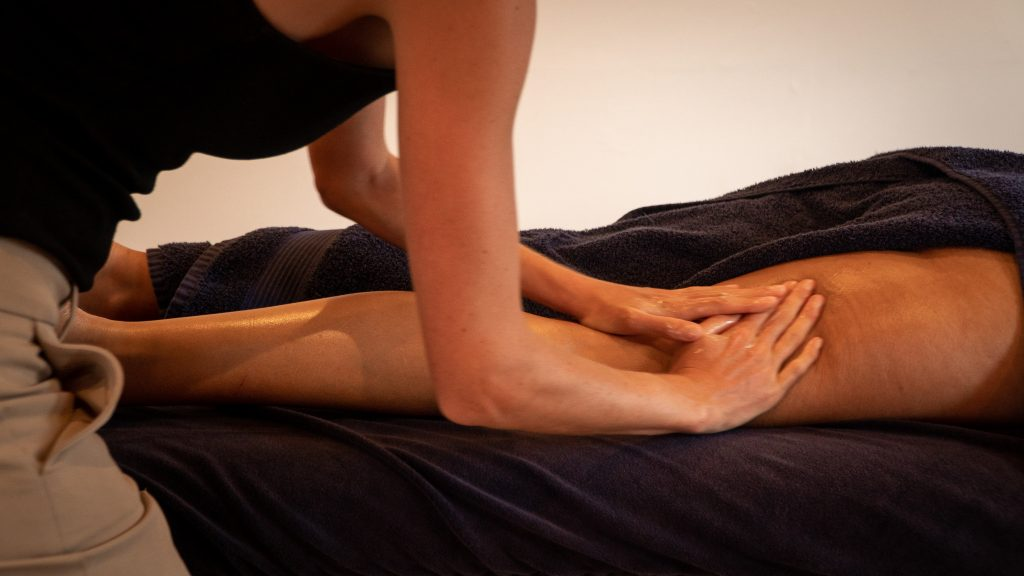 Les Massage in Les Gets, deep tissue, reducing DOMS