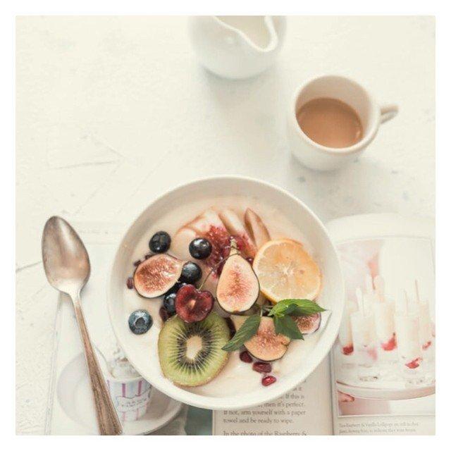 Healthy eating good food in Morzine