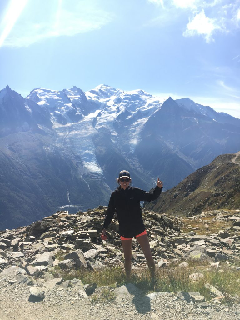Mont Blanc with martha perry