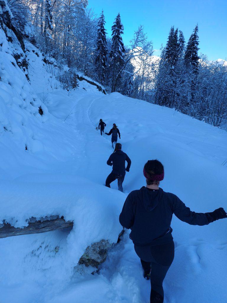 morzine trail running
